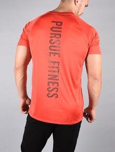 611a9589eb7 Essential BreathEasy Tee   Red.Black. Workout EssentialsRed BlackVestMen s  Waistcoat