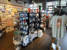 Highwater Tackle - North Vancouver, BC - good shop. Knowledgeable staff.  Sweet dog!  Decent but small selection of fly tying materials