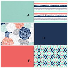 Butterbeans Exclusive Baby Crib Bedding Set by butterbeansboutique