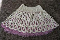 Dy Crochê!: Saias em crochê para inspiração (encontrei na net).