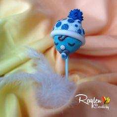 Cake pops Knitting Cake, Fabric Flowers, Cake Pops, Headbands, Cupcakes, Recipes, Handmade, Head Bands, Cupcake Cakes