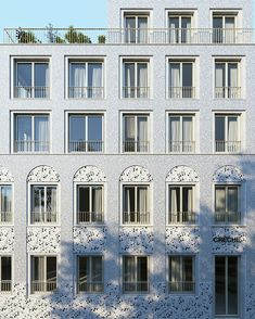 R Architecture - ArtefactoryLab Jean Nouvel, Roof Extension, Fibreglass Roof, Brick Architecture, Corner House, Brick Facade, Social Housing, Conceptual Design, Facade Design