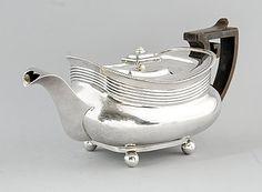 TEKANNA, silver, London 1807