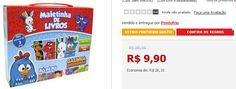 Maletinha com 4 Livros: Galinha Pintadinha << R$ 990 >>