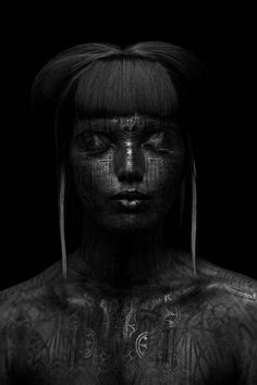 Ambrosia Rochelle (Model).  Lorenzo (Hair Stylist).  EnglePhoto (Photographer).  Eye Level Studio (Body Painter). S)