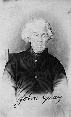John Gray--The last living veteran of the Revolutionary War