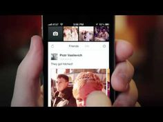 Official Facebook Camera iPhone App Trailer #facebookcamera #facebook