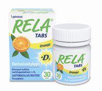 Rela Tabs  + D3- lactic acid + vitamin D3 supplement- Oy Verman Ab - Apteekkituotteet.fi