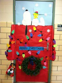 My kindergarten classroom back door 2012