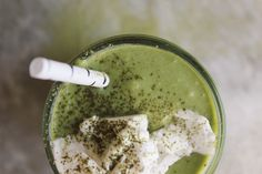 Vegan Matcha Milkshakes | @withfoodandlove
