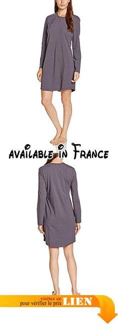 Marc OPolo Body /& Beach Marc Opolo Bigshirt Ls with Collar Chemise De Nuit Femme