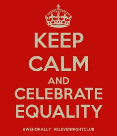 Keep calm and celebrate equality! #lgbt #marriageequality #victory #doma #prop8 #noh8