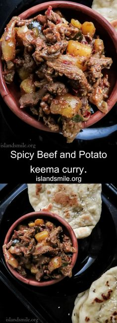 Spicy Beef and Potato keema curry-
