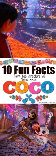 10 fun facts about Disney Pixar's Coco movie from a interview with Danielle Feinberg, Director of Photography at for Coco at Pixar.