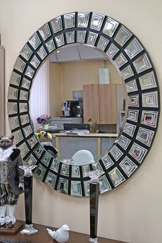 Зеркало круглое «Garda Decor»