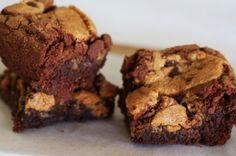 Chocolate Chip Cookie Chocolate Brownies (1) From: A Splash Of Vanilla, please visit