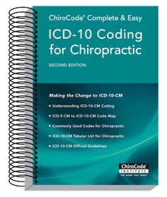 Chiropractic Coding, Billing, and Reimbursement - ChiroCode.com