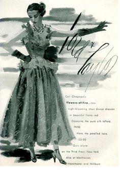 1950s fashion ads   Found in Mom's Basement