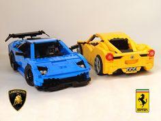 Lamborghini Murciélago SV: A LEGO® creation by Alexander Paschoaletto : MOCpages.com