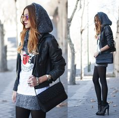 ROCK 'N' ROLL (by Andrea Gomez www.lotoflooks.com)