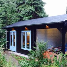 Our new shed / guesthouse / porch / garden office / meditation space / library / studio / coaching room.