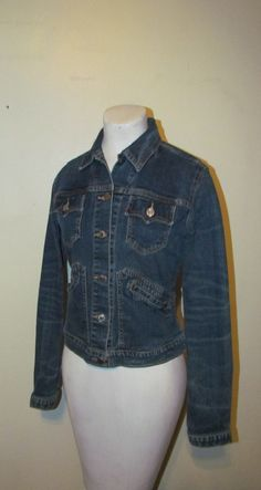 Awesome Vintage Levi's 1970's/80's Denim Jean by BeauMondeVintage, $40.00