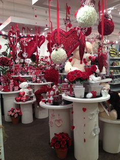 Valentine's Display from our Dallas Showroom @Dallas Dyer Market  Summer 2013! #burtonandburton #valentine