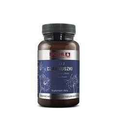 Najwyższej jakości olej z czarnuszki w kapsułkach - wygodne dawkowanie, najwyższa jakość. Container