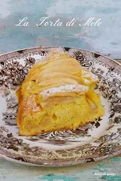 Dolci Gusti: torta di mele sofficissima senza burro