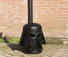 Dutchman Danny Kemkers has designed and brought to life this Darth Vader fireplace for the garden. And, and! He is raffling it off on his Facebook page.  https://www.facebook.com/kemkersspeciaalbouw