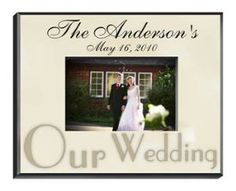 Personalized Wedding Parchment Picture Frame commemorates a wedding event in honor of the new couple with this Wedding picture frame which captures memories of Special Moments and Special People.  A bold caption signifies your relationship to the recipient or notes a distinctive occasion worthy of an elegant frame such as this one. Add a name, date, or unique message for a truly personal touch.