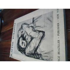 """Kaethe Kollwitz"" with introduction by Carl Zigrosser. Rare 1951 George Braziller ed plates illus."