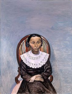 André Derain - Portrait of a Girl in Black, 1913, Hermitage Museum