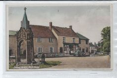 Jubilee Square, North Curry, Somerset, England. Postally used 1942. Some of my ancestors were from North Curry - if you're researching the Denman, Broom or Baskett families, do get in touch! esjones <at> btopenworld.com