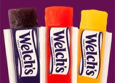 Welch's 100% Juice Ice Bars https://www.welchs.com/products/food-and-snacks/100-juice-ice-bars