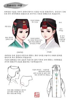 Korean Traditional Clothes, Traditional Fashion, Traditional Dresses, Korean Hanbok, Korean Dress, Korean Outfits, Oriental Fashion, Asian Fashion, Fashion Art