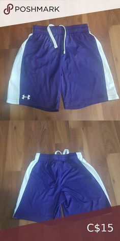 Unisex Under Armour basketball short In excellent like new condition. Unisex color. My son wore them, but could be worn by anyone. No rips, tears or stains Under Armour Bottoms Shorts Parasuco Jeans, Under Armour Kids, Purple Shorts, Spandex Shorts, Straight Skirt, Kids Shorts, Camo Print, Black Skinnies, Short Sleeve Blouse