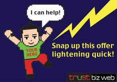 Snap up this offer Lightning quick