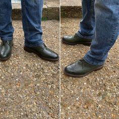 Julie Young was the lucky winner of our St. Patrick's Day competition, winning a pair of our new Robinson Andrew Jackson brogues for her husband. Congratulations Julie and thank you for the photos - they look great! Julie Young, Andrew Jackson, Brogues, Shoe Brands, Looks Great, Competition, Congratulations, Oxford Shoes, Dress Shoes