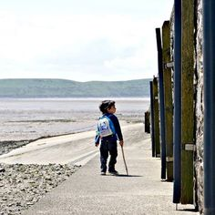 Him leading a windy seafront adventure  also an entry to #fmsphotoaday which is #fms_bisfor beach and boat!  #curiouslittleexplorers #developinglife #countrykids #clickinmoms #mummyblogger #mommyblogger #worldoflittles #kidsphotography #kidsofinstagram #pixelkids #seafront #sea #seascape #boat #horizon #island #westonsupermare #ukexplore #explorerkids #exploreuk