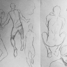 """Gefällt 1,332 Mal, 3 Kommentare - @xafeelgood auf Instagram: """"#sketch #art #anatomy"""""""