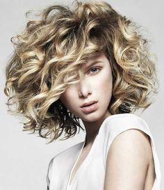 Short Thick Curly Bob Hair 2015