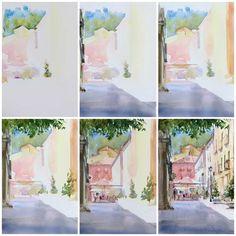 Как нарисовать уголок города акварелью? С чего начать? Какими правилами руководствоваться? Посмотрите этот мастер-класс, чтобы получить ответы на эти вопросы.