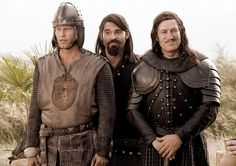 1 1/2 KNIGHTS - IN SEARCH OF THE RAVISHING PRINCESS HERZELINDE, (aka 1 1/2 RITTER - AUF DER SUCHE NACH DER HINREIBENDEN HERZELINDE, from left: Til Schweiger, Rick Kavanian, Tobias Moretti, 2008. ©Warner Bros.