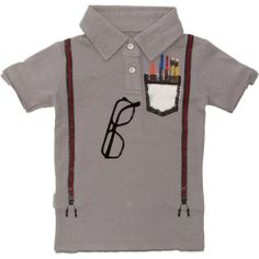 #minishatsu boy genius polo  $28 with free shipping in sizes 6 and 12