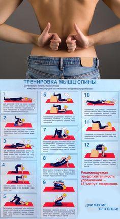 Эффективные упражнения для растяжки спины и позвоночника