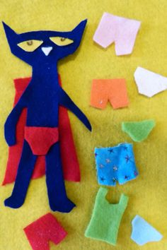 Paula's Preschool and Kindergarten: Pete the Cat's Underwear, a class made book for the letter U.