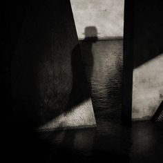 """mpdrolet: """" The black shadow Patrick Gonzales """" Shadow Photography, Dark Photography, Abstract Photography, Black And White Photography, Fashion Photography, Jean Paul Sartre, Black Shadow, Light And Shadow, Shadow Play"""