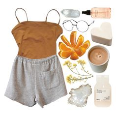 """""""☽she's got a book for every situation, gets into parties without invitations☽"""" by eveebaptiste ❤ liked on Polyvore featuring beauty, Eres, Clu, Davines, ZeroUV, Pier 1 Imports and philosophy"""