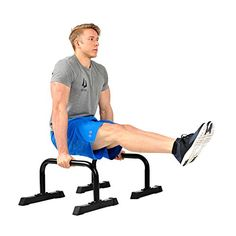 Free Delivery Ultimate Body Press Parallettes 12x24 inch //Price: $124.69 & FREE Shipping to USA // www.fitnessamerica.store //    #homefitness